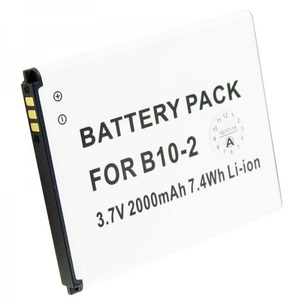 Batterie Caterpillar CAT B15 B10-2 en réplique de la batterie AccuCell