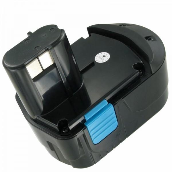 AccuCell batterie adapté pour Hitachi EB1826 HL 18 Volt 2000mAh