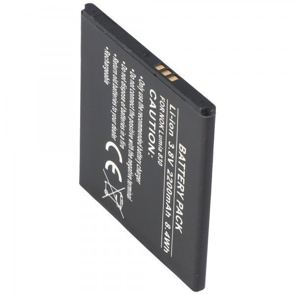 Batterie pour Nokia Lumia 830 Batterie pour Nokia BV-L4A