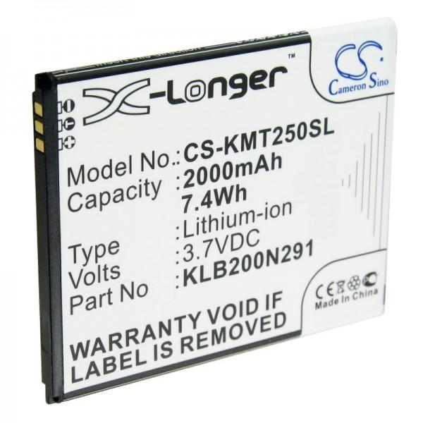 Batterie pour Kazam Trooper 2 5.0 KLB200N291