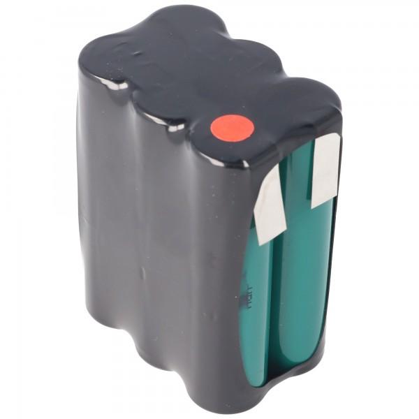 Batterie de 7,2 volts F2x3 Arrangement 4000mAh NiMH HR-4 / 3AU 51 x 17 x 67 mm