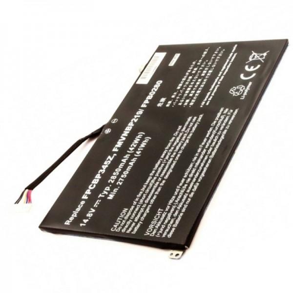 Batterie pour Fujitsu batterie FMVNBP219, FPB0280, FPCBP345Z