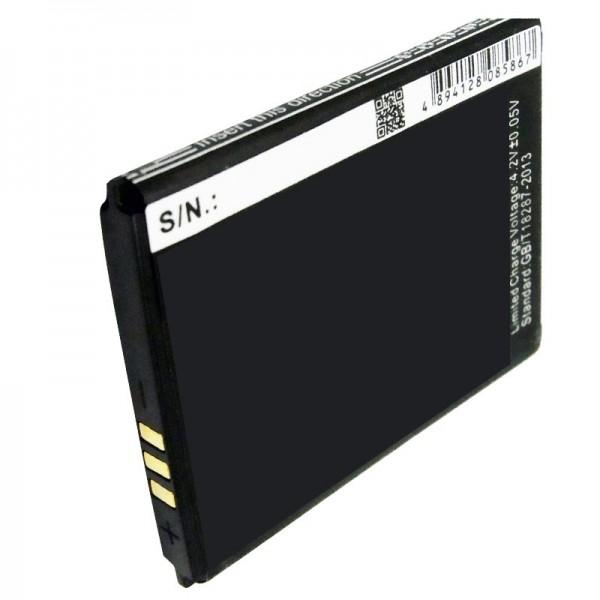 Batterie AccuCell adaptée à la batterie de téléphone portable Batterie Wiko MINIMI