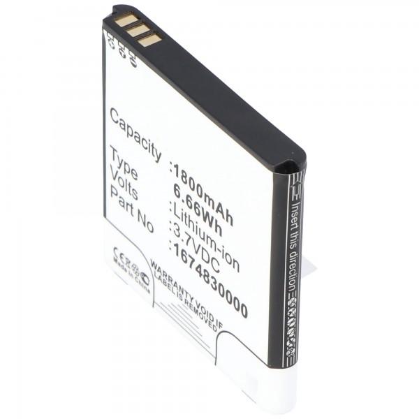 Batterie pour routeur sans fil TP-Link TL-MR11U
