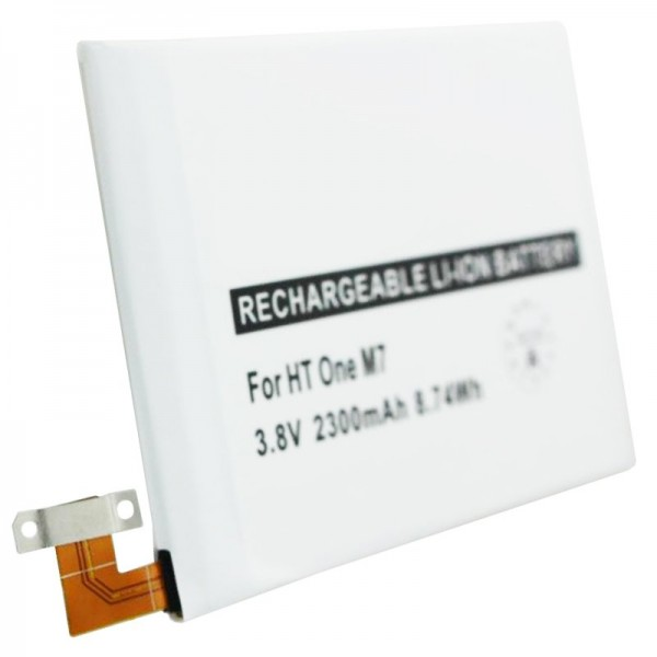 Batterie pour HTC One M7, batterie de rechange 35H00207-01M, BN07100