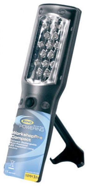 Lampe d'inspection à LED compacte à positionnement multiple, sans fil