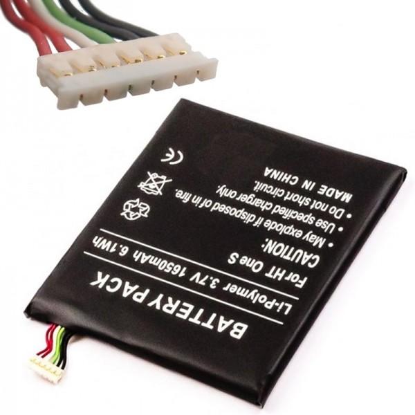 Batterie pour HTC ONE S, Ville, Ville C, Z520e, Z560e Batterie de remplacement 35H00185-01M, 35H00185-02M