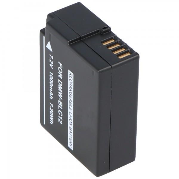 Batterie de remplacement pour batterie Panasonic DMW-BLC12 Leica batterie Leica BP-DC 12-E Leica Q type 116