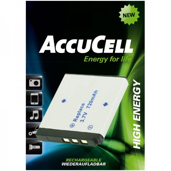 AccuCell batterie adaptée pour Rollei XS-10 in Touch batterie