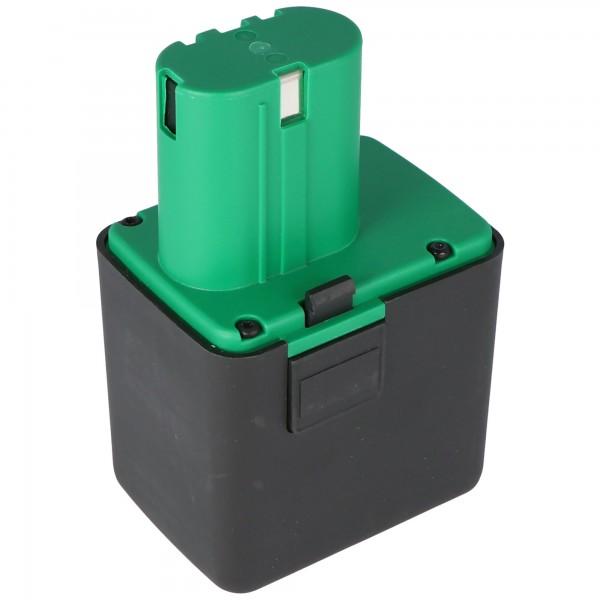 Batterie de réplique adaptée à la batterie Li-ion Gesipa de 14,4 volts, 4,0 Ah (pas de batterie Gesipa d'origine)