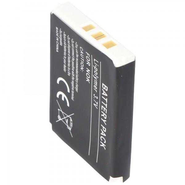AccuCell batterie adaptéee pour Nokia 3315, 1200mAh