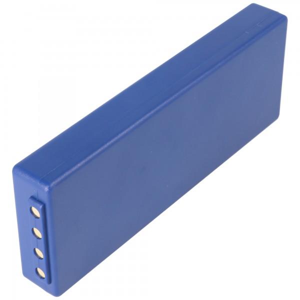 AccuCell batterie adapté pour HBC FuB10a, NM26C, BA211060, BA214061 NiMH 1500mAh