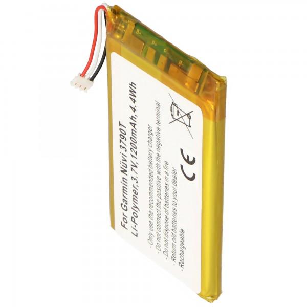 Batterie AccuCell compatible avec la batterie Garmin Nuvi 3700 361-00046-02, 361-00064-02