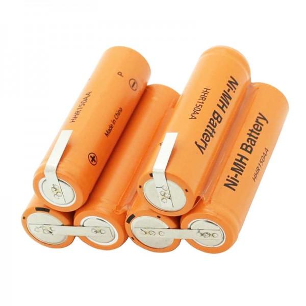 Batterie,7.2v ni 140033277033   Electrolux