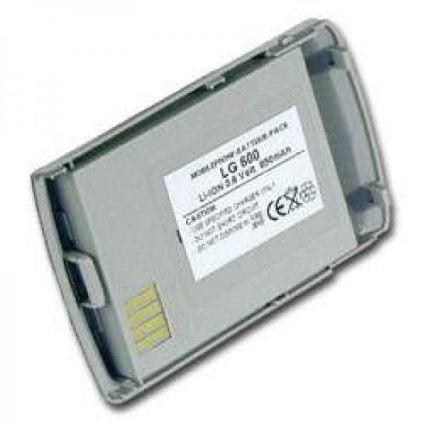 AccuCell batterie adapté pour LG 600, 600mAh