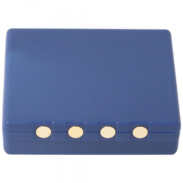 Batterie AccuCell pour batterie radio HBC FUB 3A BA203060, BA222060, 6 V 700 mAh