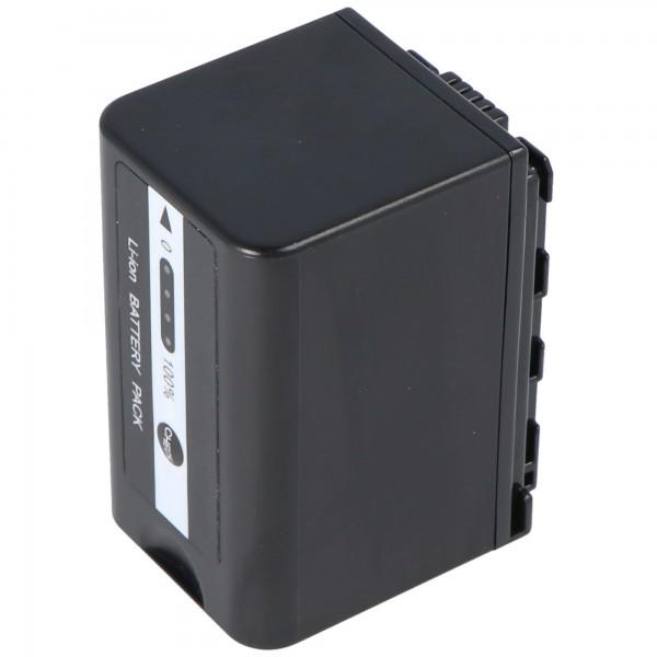 Batterie VW-VBD58 pour Panasonic HC-X1000 avec indicateur de niveau de batterie VW-VBD58