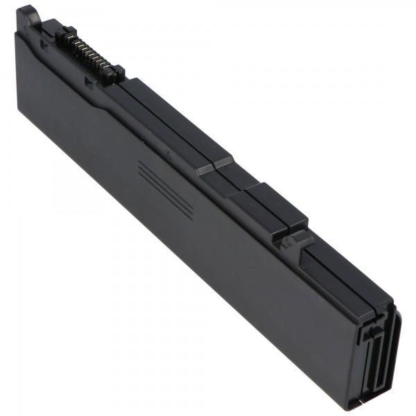 AccuCell batterie convient pour Toshiba Tecra P10, P5, S4 avec 4400mAh