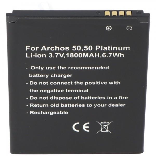 Batterie compatible avec la batterie Archos 50, 50 Platinum AC50PL