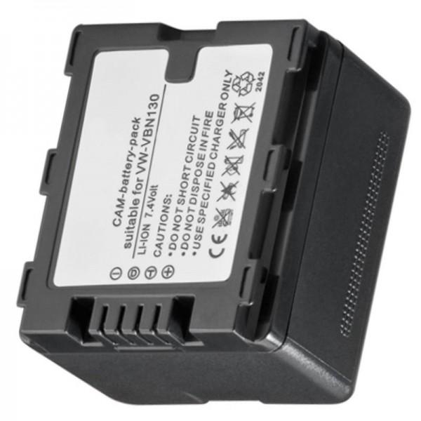 Batterie pour VW-VBN130, VBN-260, HDC-TM900, -HS900, -SD900