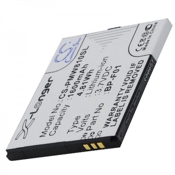 AccuCell batterie adapté pour la batterie Phicomm FWS610, FWS610 batterie BP-F01