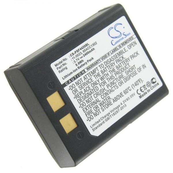 AccuCell batterie adapté pour PSC Falcon 4400, Falcon 4410, Falcon 4420