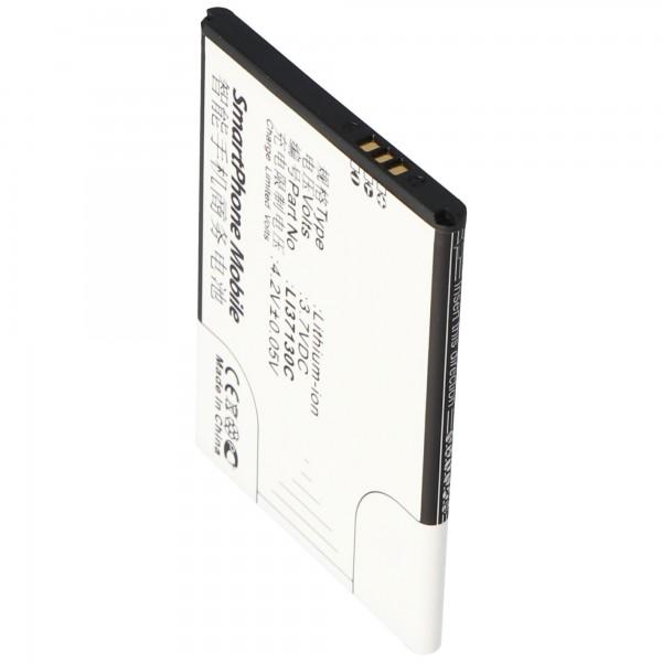 AccuCell batterie compatible avec la batterie Hisense E912 Li37130C