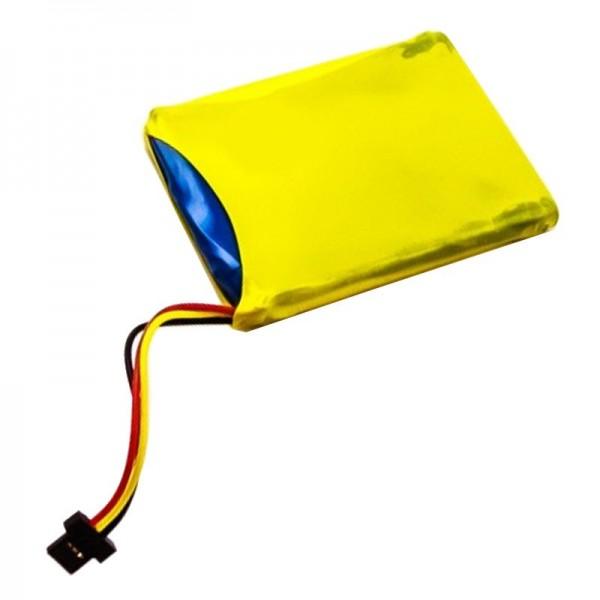 Batterie compatible avec TomTom 4ET0.002.07, Start XL Batterie P11P16-22-S01