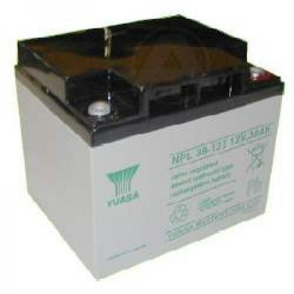 YUASA NP38-12 Batterie PB 12 Volt 38000mAh