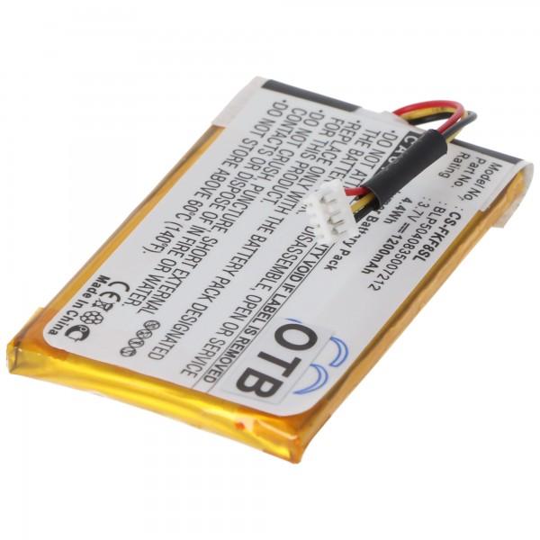 AccuCell batterie adaptée pour Falk F5, F8, F10, F12, BLP5040835007212
