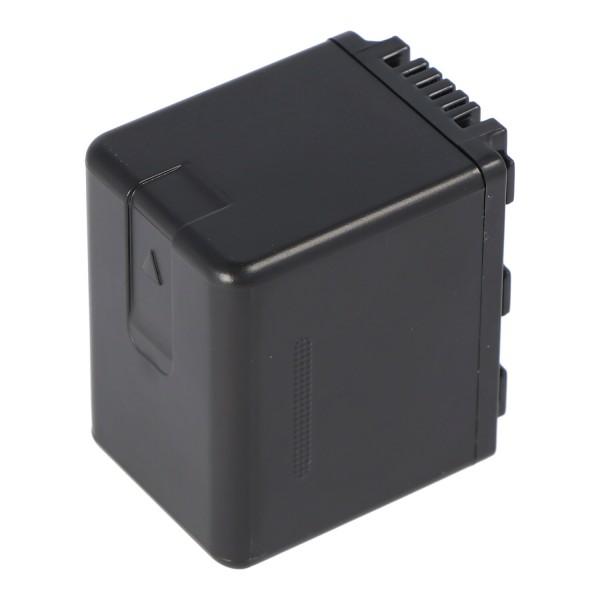 Batterie compatible pour Panasonic VW-VBK360, VW-VBK180 3,7 Volt 3400mAh
