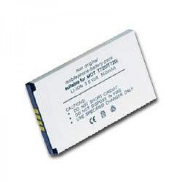 AccuCell batterie adapté pour MOTOROLA T720- T720i, BLS8550, BLX8570