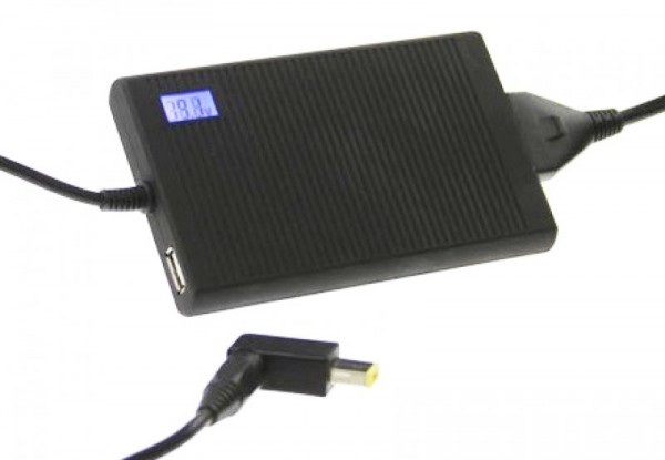 Alimentation universelle SILA pour ordinateur portable avec 15 fiches avec sortie USB supplémentaire