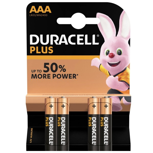 DURACELL Plus Micro / AAA 4-pack