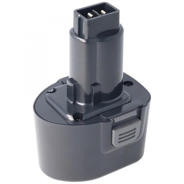 Batterie adaptéee pour Dewalt DE9057, DE9085, DW9057 7.2V NiMH 2.0Ah