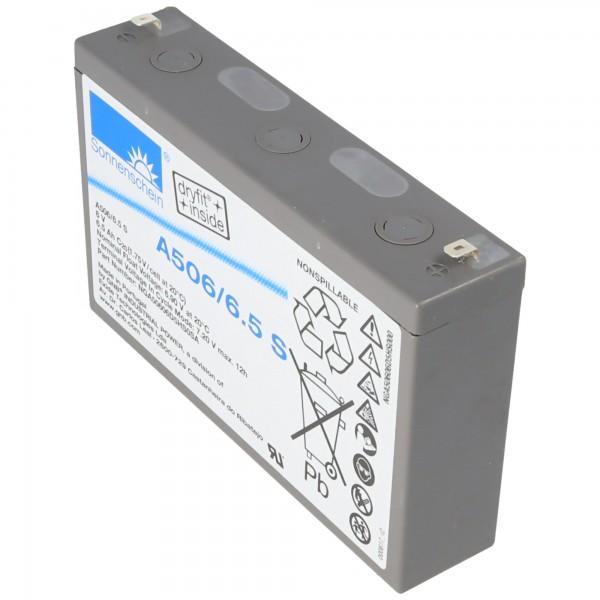 Sunshine Dryfit A506 / 6.5S batterie au plomb, connexion 4.8mm