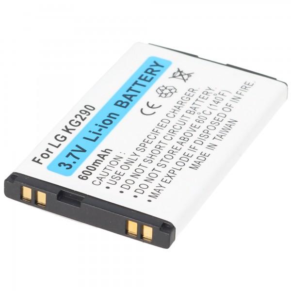 AccuCell batterie adapté pour LG KG290 téléphone mobile