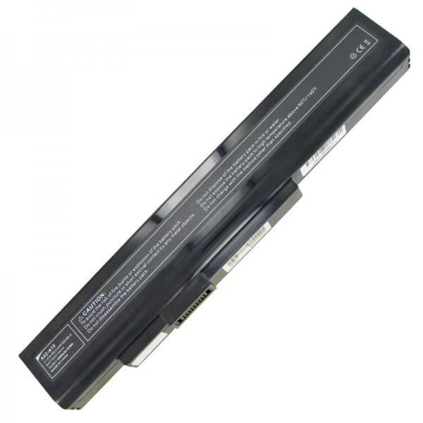 Batterie pour Medion A45-A15 batterie 40036065