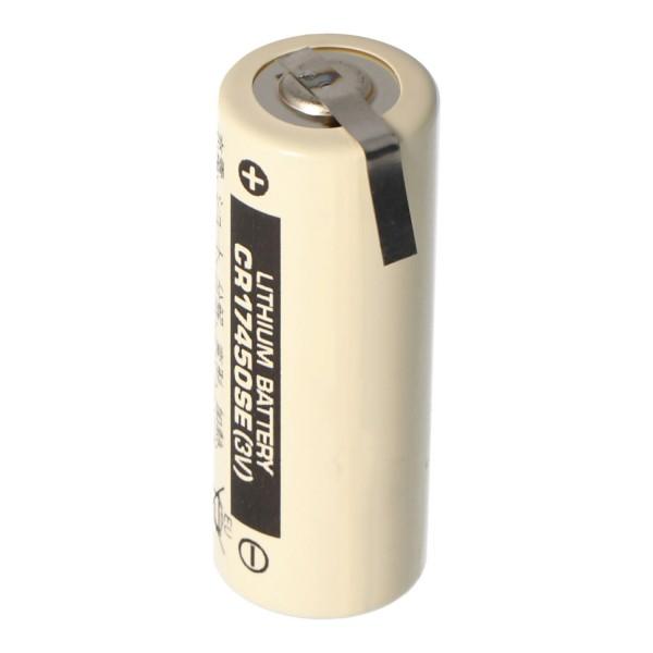 Batterie au lithium Sanyo CR17450SE taille A, avec patte à souder en forme de Z
