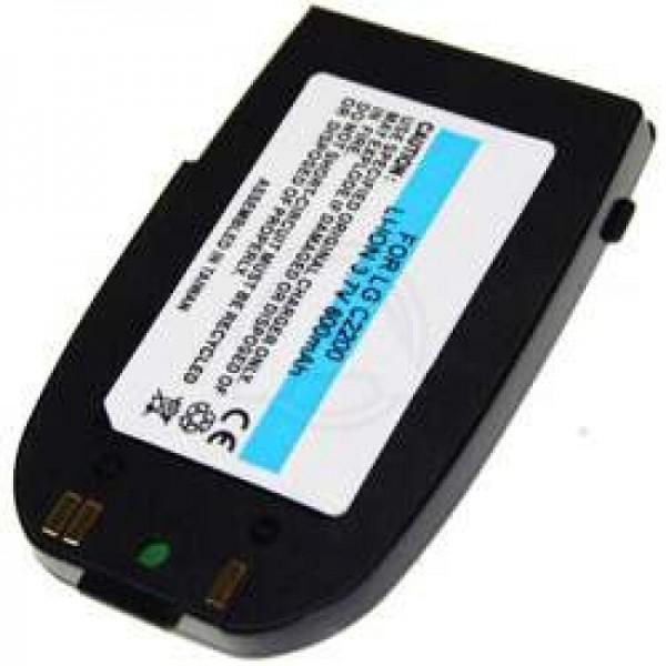AccuCell batterie compatible avec la batterie LG C2200