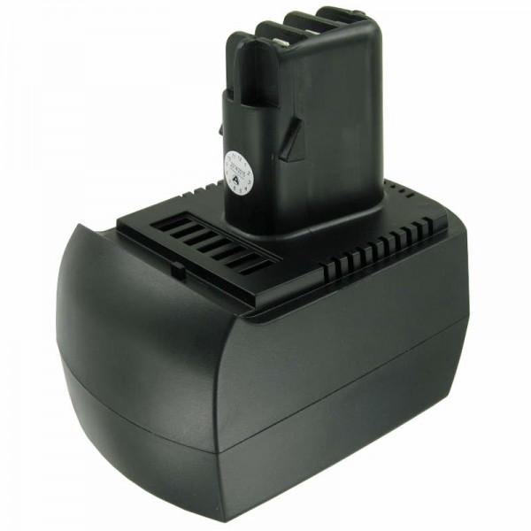 Batterie pour Metabo 6.25473, 6.25474 NiMH 2Ah 12V à refroidissement par air