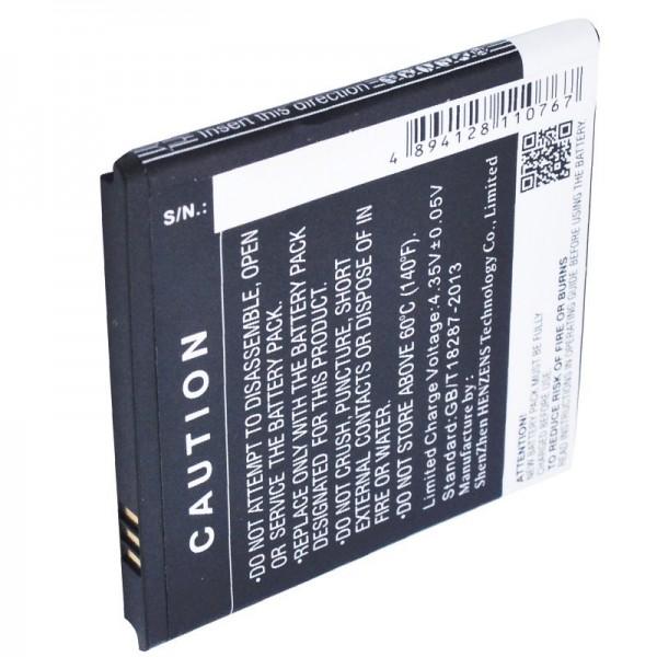 Batterie pour BQ Aquaris 4 Batterie B45, BT-1500-252 Li-Polymer 3,8 Volt 1700mAh