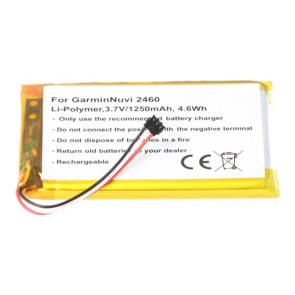 AccuCell batterie adapté pour la batterie Garmin Nuvi 2460 361-00051-02