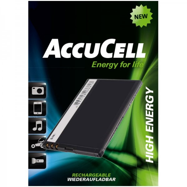 Batterie AccuCell adaptable sur Nokia 808 PureView, N9