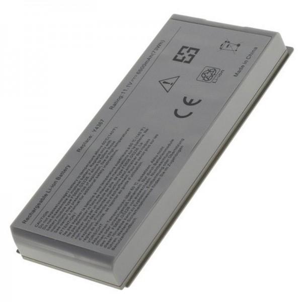 Batterie compatible pour Dell Latitude D810, Dell Precision M70