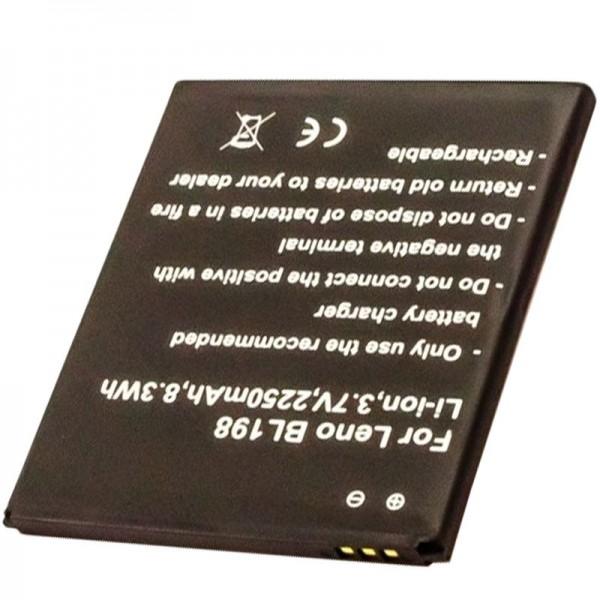 Batterie pour LENOVO BL198 batterie 5B19A4682G, A850, K860, K860i, S880, S880i, S890