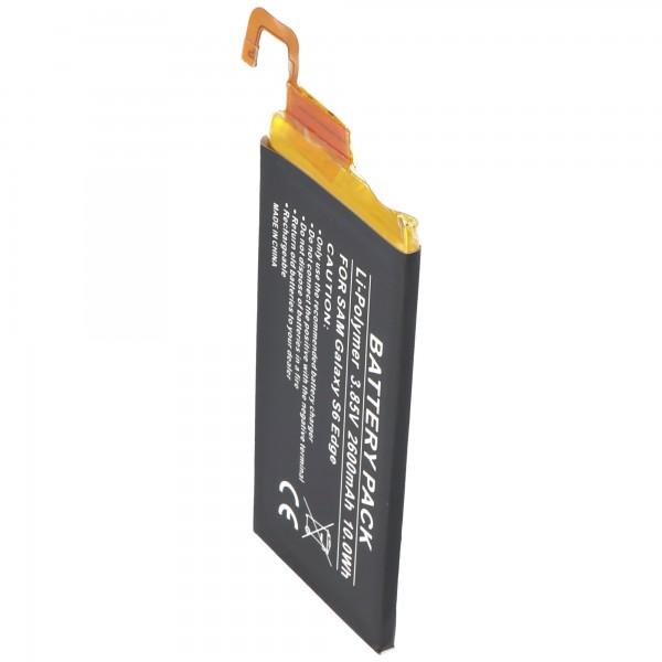 Batterie adaptée pour Samsung Galaxy S6 Edge EB-BG925ABE 2600mAh