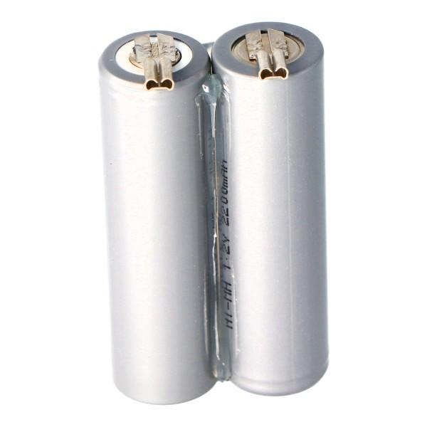 Batterie pour le Moser Ermila Genio Plus Genius Batterie 1854-0078, 2.4V NiMh