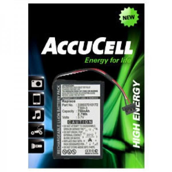 Batterie adaptée pour MITAC Mio Moov 400, Moov 405, 3389370172