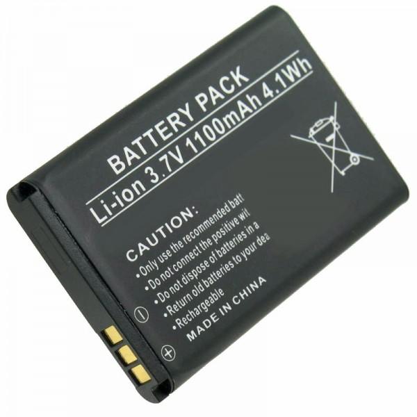 Batterie AccuCell adaptable sur Doro Primo 215, Primo 405, RCB405, PhoneEasy 332, Hisense CS668